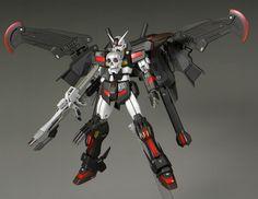 GUNDAM GUY: HGBF 1/144 Crossbone Gundam Crow - Custom Build