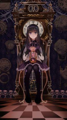Homura Akemi from Puella Magi Madoka Magica