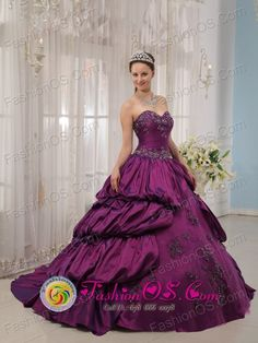 Clearance Beading and Layers Quinceanera Dress in Hot Pink and ...