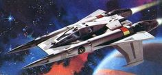 Buck Rogers' Earth Directorate Starfighter
