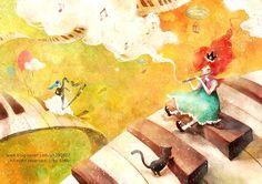 illustrations ⓒ 2010 SaMo. All rights reserved http://blog.naver.com/yh100417 트럼펫부는 소년.....