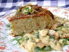 W Mojej Kuchni Lubię.. : babka ziemniaczana z sosem podgrzybkowym...