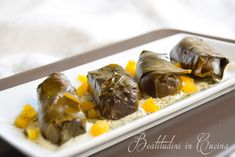 Dolmades: involtini greci di riso in foglia di vite.   Sognando la Grecia #greek #ricetta #recipe #food #foofblogger