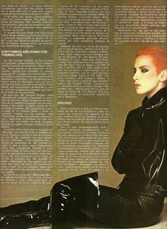 interview with Annie Lennox