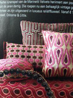 Marinetti velvets, osborne&little