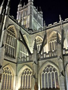 The Abbey at night