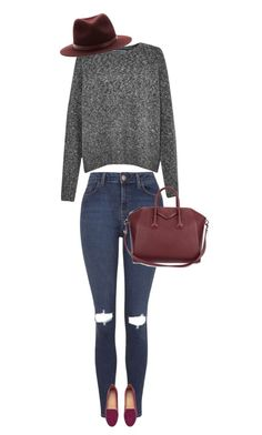 """""""folow your dreams"""" by ecem1 ❤ liked on Polyvore featuring French Connection, Topshop, H&M, Givenchy and rag & bone"""