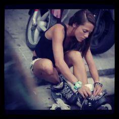 Sofi Carreras #rollerblade #style