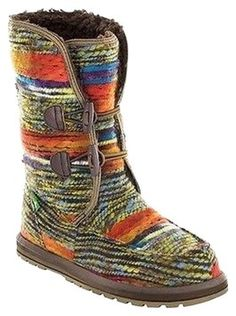 Sanuk Horizon Multicolored Boots 37% off retail - no longer available.  :(