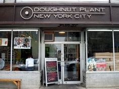 Doughnut Plant NYC - besides glazed Krispy Kremes, this is the one place to eat doughnuts at that's worth the calories. I absolutely love their Tres Leches and Creme Brulee doughnuts. And because I'm a dork, I took a pic with the owner. He beat Bobby Flay in the Doughnut Throwdown!