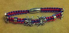 Spiderman bracelet by dschram.deviantart.com