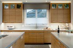 Bamboo Kitchen Cabinets Kitchen Contemporary with Bamboo Cabinets Beverage Center Contemporary Kitchen Cabinets, Modern Kitchen Cabinets, Kitchen Tops, Kitchen Cabinet Design, Modern Kitchen Design, New Kitchen, Kitchen Ideas, Contemporary Kitchens, Kitchen Reno