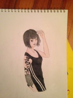 faith from Mirrors Edge. I also did a speed drawing of this on my YouTube channel.