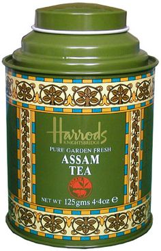 Harrods Assam Tea [Yes, I know . . ]