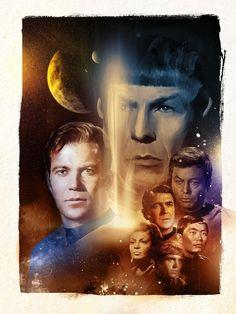 Star Trek 10 8 x 10 Tee Shirt Iron on Transfer Television Series Characters | eBay