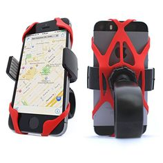 Vibrelli Universal Bike Phone Mount Holder. Fits any Smart Phone