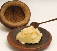 "Shea butter soap. People who have actually made 100% shea butter soap say it's fabulous for the skin, lathers somewhat like olive oil soap: it makes a dense creamy foam, with not many visible bubbles — enough to clean but not as ""slimy"" as Castile soap. An alternative would be to make a soap that is 82% shea and add Castor oil to help with lather."