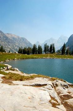 Lake Solitude, Grand Teton National Park, WY-I will go here. Bucket list hike.