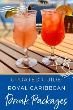 Should you purchase a Royal Caribbean Drink Package? It is one of the most frequent questions we are asked by perspective travelers. We have purchased these beverage packages in the past, but realize the decision is different for everybody. To help those looking to cruise in 2021, we break down all of the details to help you determine if the Royal Caribbean Drink Package is worth it! #cruise #cruisedrinks #cruisevacation #cruisetips #eatsleepcruise