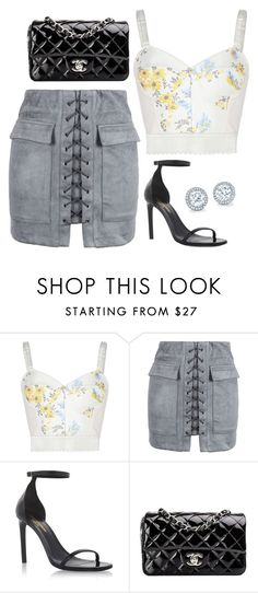 """Untitled #346"" by alexis1501 on Polyvore featuring STELLA McCARTNEY, WithChic, Yves Saint Laurent and Chanel"