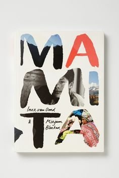 Mamita by Mirjam Bleeker. Love the knocked-out hand-rendered lettering with photo background