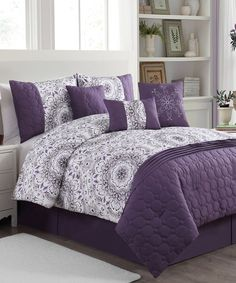 Lavender Anita Comforter Set by Geneva Home Fashions & Under the Canopy The Mystic Comforter Sets 100% Organic Cotton ...