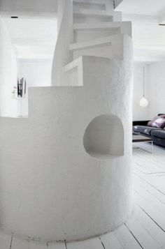 A former Fisherman's cottage in Copenhagen. Norm Architects. barefootstyling.com