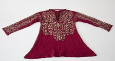 Informal shirt, 1690-1710, English. Baroque Fashion, Bell Sleeve Top, Knitting, Celebrities, Sweaters, Tudor, Shirts, Clothes, Tops