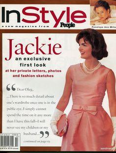 InStyle Magazine October 1995 Jackie Kennedy