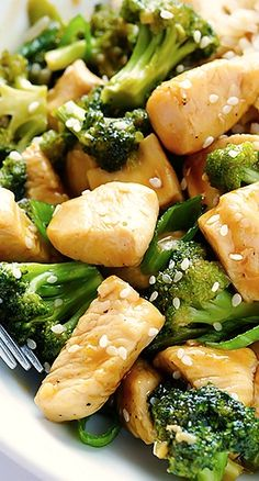 12 Minute Chicken and Broccoli