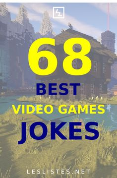 Almost everyone's childhood was filled with plenty of video games. With that in mind, check out the top 68 video games jokes. #videogames National Video Game Day, Pokemon In Real Life, Gamer Boyfriend, Getting Dumped, Play Pokemon, Jedi Knight, First Person Shooter, Could Play, Play Online