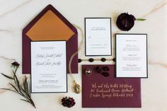 """Moody wedding invites - """"Until Death Do Us Part"""": An Intriguing, Moody Style Shoot 