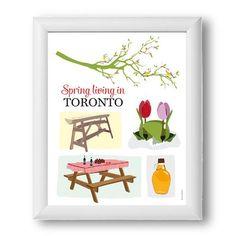 Spring living in Toronto
