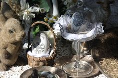 Decorative Easter Egg in a glass jar on a stand. By Iwona Mierowska, I.M. Decorations See more inspirations at: https://www.etsy.com/shop/IMDecorations #Easter #Eastertide #house #interior #decor #decoration #inspiration #easteregg