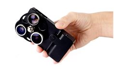 The iPhone Lens Dial ($249.00)      A complete three-lens optical system for serious iPhoneographers