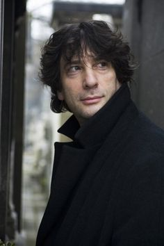 Neil Gaiman, author of Neverwhere and American Gods