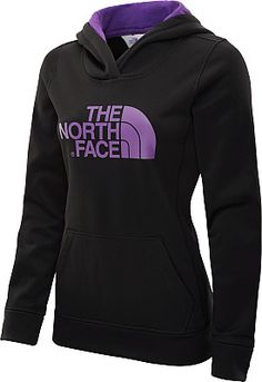 THE NORTH FACE Women's Fave-Our-Ite Pullover Hoodie - SportsAuthority.com Black/purple, size large