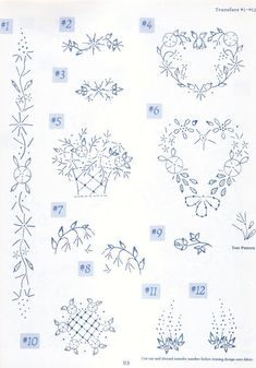 Emy39s Gallery SilkRibbon Embroidery Patterns