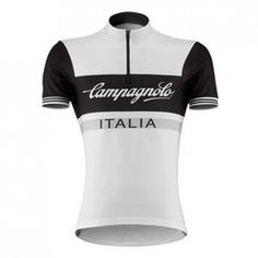 0249e5051 Slide the Campagnolo Sportswear Heritage Half-Zip Logo Cycling Jersey over  your head for some classic style. This jersey shows that classic is classy  but ...
