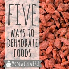 Think using a dehydrator is the only way to be able to dehdyrate your garden bounty?