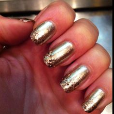New years nails...courtesy of sephora!