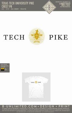 Pi Kappa Alpha Shirt PR   Fraternity Event   Greek Event #pikappaalpha #pike Alpha Shirt, Pi Kappa Alpha, Texas Tech University, Fraternity, All Design, Greek, Artwork, Work Of Art, Auguste Rodin Artwork