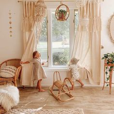 Baby Bedroom, Baby Boy Rooms, Baby Room Decor, Girls Bedroom, Baby Room Design, Boho Nursery, Girl Nursery, Vintage Nursery Girl, Horse Nursery