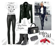 Untitled #224 by christina-geo on Polyvore featuring Yves Saint Laurent, Chico's and Anja