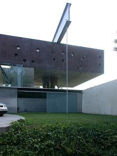 OMA Rem Koolhaas - Maison à Floirac, Bordeaux Rem Koolhaas, Space Architecture, Contemporary Architecture, Deconstructivism, Postmodernism, Urban Design, House, Auditorium, Villas