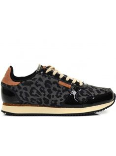 Check out this new hot site with cheap shoes! WODEN YDUN DAMES SNEAKERS - LEOPARD ZWART #fashionfootwear
