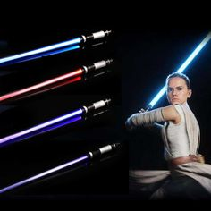 2PCS Doppel Star Wars Lichtschwert Schwert Spielzeug Mit Sound Laser Lichtschwert Darth Vader Jedi Rey Luke Skywalker Licht saber Spielzeug| | - AliExpress Katana, Luke Skywalker, Samurai, Star Wars Light Saber, For Stars, Darth Vader, Toys For Boys, Ebay