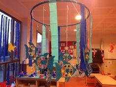 mooiste vis van CD Reggio Emilia, Under The Sea Theme, Classroom Themes, Classroom Organization, Animal Habitats, Pre School, Kids And Parenting, Activities, School