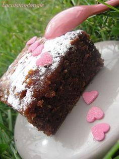 Fondant au chocolat/spéculoos et p'tit mot ... - Dans la p'tite cuisine d'Angie ... Muffin, Desserts, Food, Chocolate Fondant, Custard, Salty Cake, Greedy People, Kitchens, Tailgate Desserts
