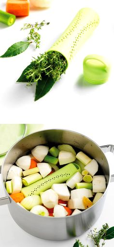 Herb & Spice Infuser - place into the pot to infuse stews, soups, stocks and more.